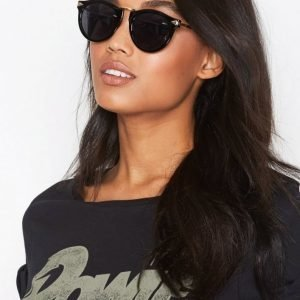 Nly Accessories Printed Sunglasses Aurinkolasit Musta