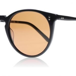 Oliver Peoples The Row O'Malley NYC 100553 Musta Aurinkolasit