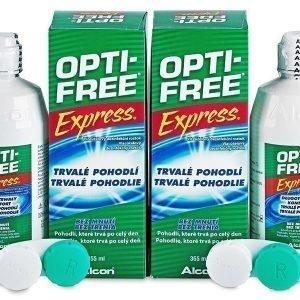 Opti-Free Express Piilolinssineste 2x355ml