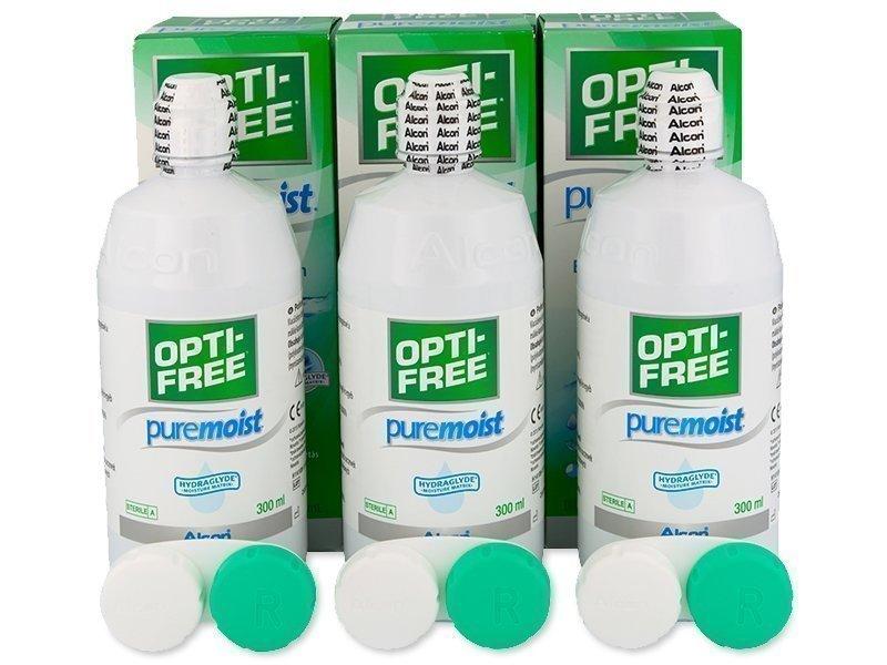 Opti-Free PureMoist Piilolinssineste 3 x 300 ml - Optikko24.fi 2e060b31ad