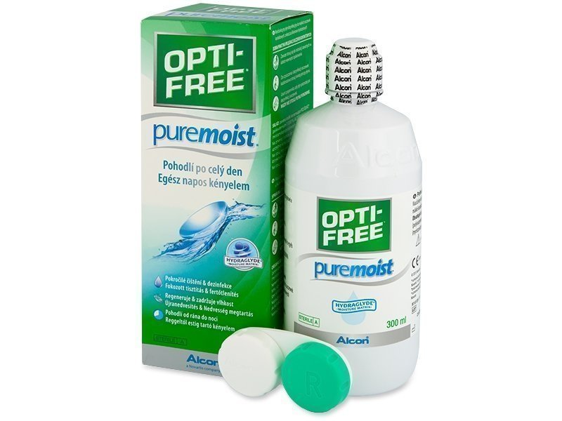 Opti-Free PureMoist Piilolinssineste 300 ml - Optikko24.fi 0c9fdc03de