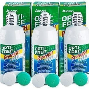 Opti-Free RepleniSH Piilolinssineste 3 x 300 ml