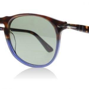Persol 9649S 1022/58 Ruskea-sininen Aurinkolasit