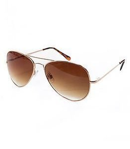 Pieces Lippa Sunglasses Gold