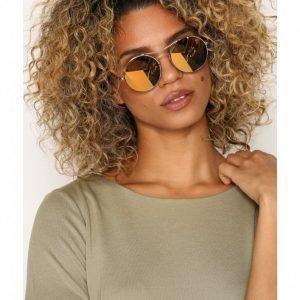 Pieces Pckaitlyn Sunglasses Aurinkolasit Kulta