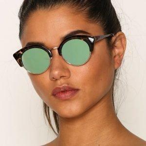 Pieces Pckate Sunglasses Aurinkolasit Ruskea