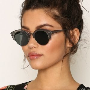 Pieces Pckate Sunglasses Aurinkolasit Tummanharmaa