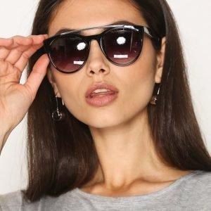 Pieces Pcmoba Sunglasses Aurinkolasit Musta
