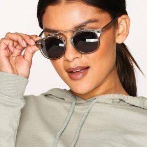 Pieces Pcnelle Sunglasses Aurinkolasit Tummanharmaa
