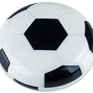 Piilolinssikotelo Football peilillä musta