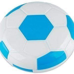 Piilolinssikotelo Football peilillä sininen