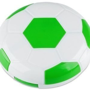 Piilolinssikotelo Football peilillä vihreä
