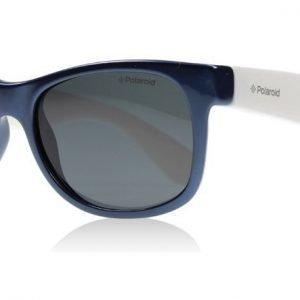 Polaroid Junior P0300 P0300B 0JUY2 Sinivalkoinen Aurinkolasit