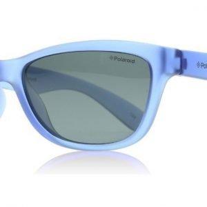 Polaroid Junior P0422 P0422A FLL Matta sininen Aurinkolasit