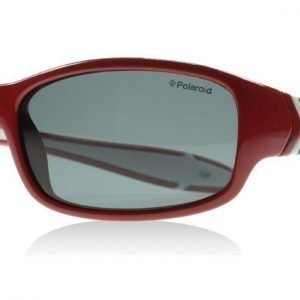 Polaroid Junior PLD8000S T15 Punainen ja Valkoinen Aurinkolasit