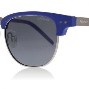 Polaroid Junior PLD8023/S RCT Matta sininen Aurinkolasit