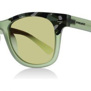 Police Junior Spike 7D7G Green-Print Aurinkolasit