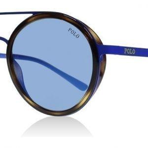 Polo 3103 9318-55 Kilpikonna-sininen Aurinkolasit