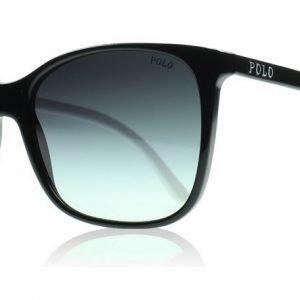 Polo 4094 55298G Musta ja Valkoinen Aurinkolasit