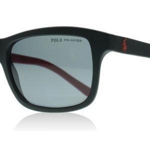 Polo 4095 550481 Musta ja Punainen Aurinkolasit