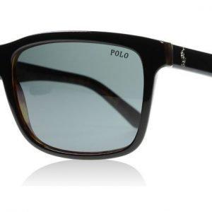Polo 4098 526087 Musta-kilpikonna Aurinkolasit