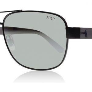 Polo Ralph Lauren 3101 31576G Matta tumma asemetalli Aurinkolasit