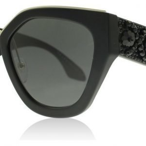Prada 10TS PR10TS 1AB5S0 Black Aurinkolasit