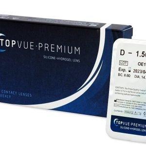 Premium 1 kpl Kahden viikon piilolinssit
