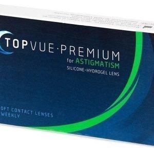 Premium for Astigmatism 3kpl Tooriset piilolinssit