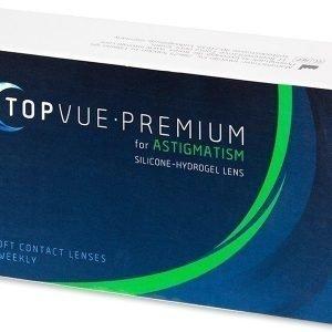 Premium for Astigmatism 6kpl Tooriset piilolinssit