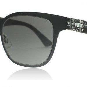 Puma 0070S 001 Musta-kuvioitu Aurinkolasit