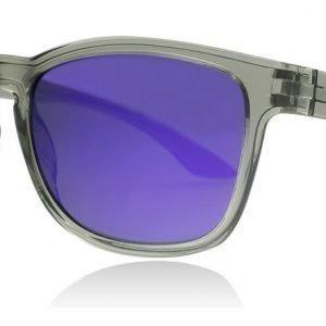 Puma 0073S 005 Harmaa-violetti Aurinkolasit
