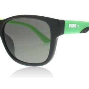 Puma Junior 0004S 003 Musta-vihreä Aurinkolasit