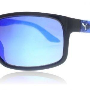 Puma Junior 0007S 002 Musta-sininen Aurinkolasit