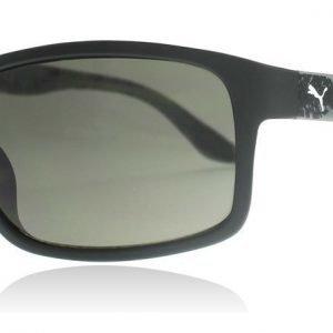 Puma Junior 0007S 004 Musta-harmaa Aurinkolasit