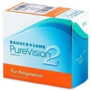 PureVision 2 for Astigmatism 6kpl Tooriset piilolinssit