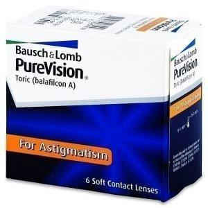 PureVision Toric 6kpl Tooriset piilolinssit