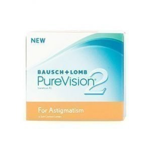 Purevision 2 Hd For Astigmatism 6/pkt Piilolinssit