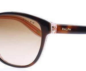 Ralph 5128 5218 977/13 Kullanruskea-oranssi raita Aurinkolasit