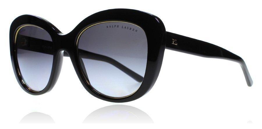 Ralph Lauren 8149 5001-T3 Black-Gold Aurinkolasit