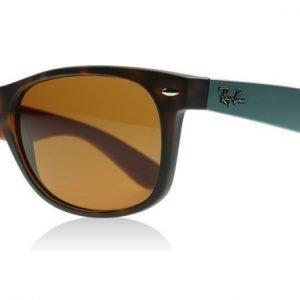 Ray-Ban 2132 Wayfarer 2132 6179 Havana Sininen ja Ruskea Aurinkolasit