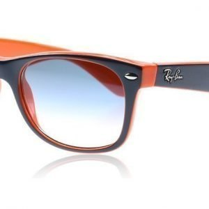Ray-Ban 2132 Wayfarer 2132 789/3F Sininen Oranssi Aurinkolasit