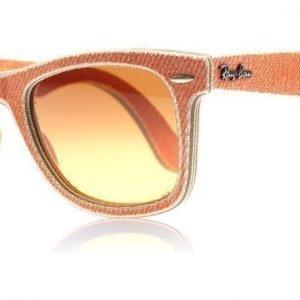 Ray-Ban 2140 Wayfarer 2140 11653C Oranssi Farkku Aurinkolasit