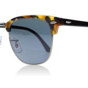 Ray-Ban 3016 Clubmaster 3016 1158R5 Täplikäs sininen havanna Aurinkolasit
