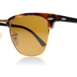Ray-Ban 3016 Clubmaster 3016 1160 Ruskea Täplikäs Havana Aurinkolasit