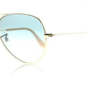Ray-Ban 3025 Aviator 3025 001-3F Arista Kulta Aurinkolasit