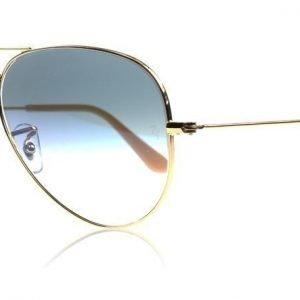 Ray-Ban 3025 Aviator 3025 001/3F Kulta Aurinkolasit