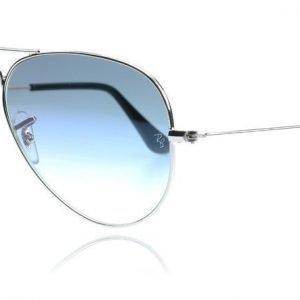 Ray-Ban 3025 Aviator 3025 003/3F Hopea Aurinkolasit