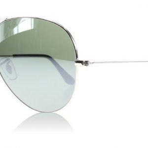 Ray-Ban 3025 Aviator 3025 003/40 Hopea Kristalli Aurinkolasit