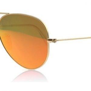 Ray-Ban 3025 Aviator 3025 112/4D Matta kulta Aurinkolasit